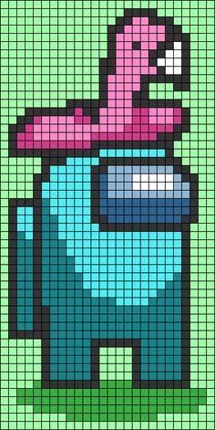 Pokemon Perler Beads, Diy Perler Beads, Perler Bead Art, Melty Bead Patterns, Perler Patterns, Beading Patterns, Piskel Art, Pix Art, Pixel Art Templates