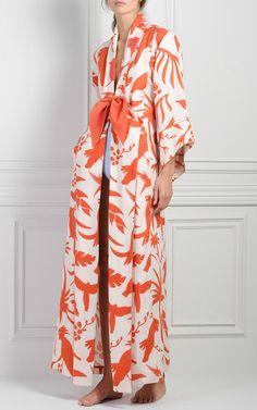 Miramar Printed Kimono by JOHANNA ORTIZ Now Available on Moda Operandi