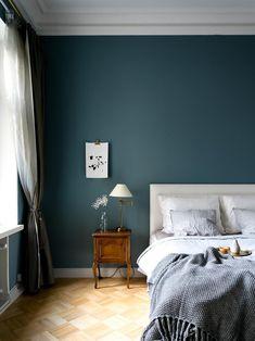 Sold By Patrick Frisk Bedroom Color Schemes, Bedroom Colors, Scandinavian Interior Bedroom, Apartment Living, Living Room, House Rooms, Bedroom Wall, Interior Inspiration, Interior Design