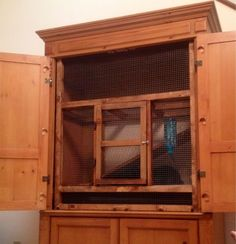 Image result for tv stand turned rabbit hutch