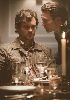Hannibal, NBC | #hannibal #hughdancy #madsmikkelsen
