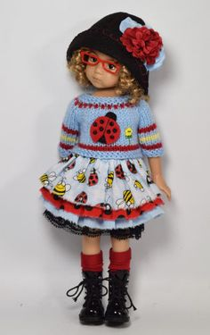 Ladybug-outfit-for-Little-Darlings-Dianna-Effner-13-034-by-Maggie-amp-Kate-Create