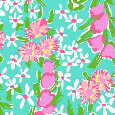 Lilly Pulitzer Shorely Blue Everything Nice