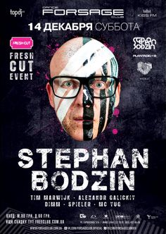 Stephan Bodzin party poster design
