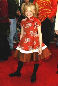 dakota fanning 2003 photos   Remember When: Dakota Fanning   Celebrities, actors, musicians from ...