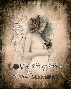 Love Lives On Print