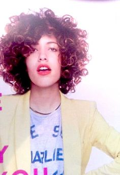 20 Gorgeous Short Curly Hair Ideas You Must See: #15. Naturally Curly