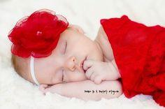 Newborn Photography Stretch Lace Wrap and Flower Headband Set by BeansInaBucket, $18.50