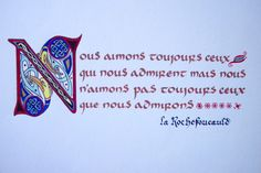 texte calligraphié - Recherche Google