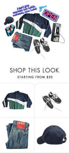 """""""The coolest"""" by ladybugfromforestofdean ❤ liked on Polyvore featuring Reebok, Levi's, Scotch Shrunk, men's fashion and menswear"""