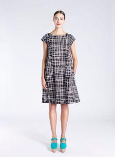 Seeli dress (black, white) |Clothing, Women, Dresses & skirts | Marimekko