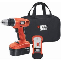 Providing controlled drilling and driving the Black & Decker NiCad Cordless Drill Driver Kit offers a variable speed/reverse design and is ideal for a variety of materials. Features a 24 position clut...