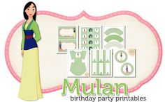 Mulan Birthday Freebie