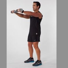 Skip: Upright Rows Do: Dumbbell Front Raises
