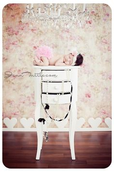 My new favorite! Vintage inspired newborn shoot