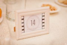 Movie Themed Table Number Photo by www. Caro Hotel, August 2014, Table Numbers, Wedding Planner, Movie, Wedding Planer, Wedding Table Numbers, Wedding Planners, Movies