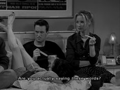 """""""Are you actually saying these words?"""""""