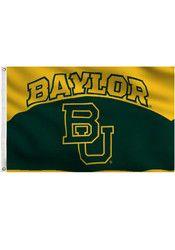 Baylor Bears 3x5 grommet flag Green Silk Screen Grommet