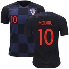 d63079fa645 Men  10 Luka Modrić Jersey Croatia National 2018 FIFA World Cup Player