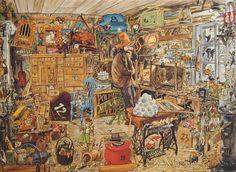 Pettson och Findus, julkalender 1993.