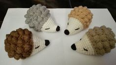 Crochet ježci