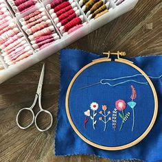 Thought I'd answer a few questions I've received lately about my work! Here goes: • I don't work from a pattern and most of my work is done freehand. On occasion, if I'm working through a complex design or shape, I may sketch something onto the fabric with a water soluble pen. • All of my embroidery comes from my own original designs. I get my ideas from my imagination, art/design books, nature, fashion. • I don't sell patterns of my work, and, as a reminder, they are protected by copyright…