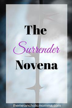 The Surrender Novena : Fr. Don Dolindo-The Melancholic Momma Rosary Novena, Novena Prayers, Catholic Prayers, Catholic Beliefs, Christianity, Spiritual Words, Spiritual Enlightenment, Spirituality, Spiritual Healer