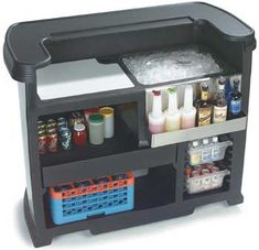 Mobile Bartending... this would be perfect!  so tired of going to people's homes and they expect me to make something out of 3 various ingredients!
