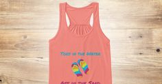 Discover Toes In The Water Women's Tank Top from Beach Witch, a custom product made just for you by Teespring. With world-class production and customer support, your satisfaction is guaranteed. - Toes In The Water  Ass In The Sand
