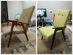 Новая жизнь советской развалюхи Outdoor Chairs, Accent Chairs, Upholstered Chairs, Garden Chairs