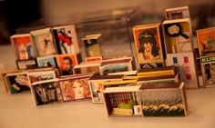 Matchbox Me: Personalized Box Art On Demand, by Sherry Mills Inside The Box, Personalised Box, Art Therapy, Box Art, Crafts, Assemblages, Altars, Tins, Museums
