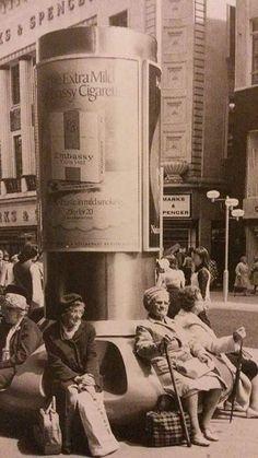 High Street, Birmingham city centre Birmingham City Centre, 1920s Party, Birmingham England, 2nd City, Vintage Tv, School Holidays, British Isles, Day Trips, Old Photos