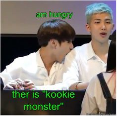 am hungry Rap monster
