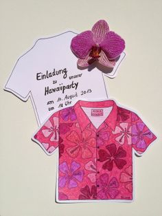 Invitation for a Hawaiian Party blog.hellomime.eu