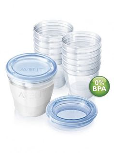 Storage Containers Philips Avent Via Breast Milk Storage Containers