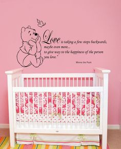 New Wall Decals Quotes Winnie the Pooh Wall Decal Quote by BestDecals