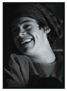 Harry's exclusive picture in Seventeen Magazine