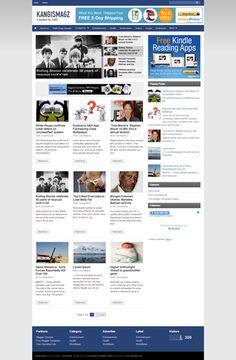 kangis magz blogger template