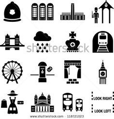 London icons by andromina, via ShutterStock