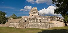 "History of astronomy - ""El Caracol"" observatory temple at Chichen Itza, Mexico."