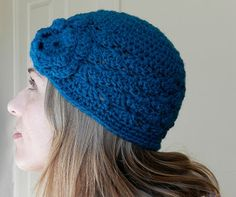Shell Stitch Crochet Hat- Free Pattern