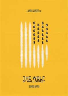 Poster / the wolf wall street