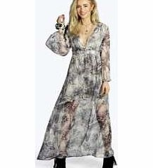 boohoo Grey Print Wide Sleeve Woven Maxi Dress - multi Floaty, floor-sweeping and fashion-forward, the maxi dress is the most-wanted way to make waves this season. Column maxis are cool, drop waist's directional and bold prints bad ass, but easy to wear j http://www.comparestoreprices.co.uk/dresses/boohoo-grey-print-wide-sleeve-woven-maxi-dress--multi.asp
