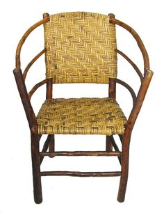 Colfax Hickory Hoop Chair Old Furniture Rustic Alicante Spain