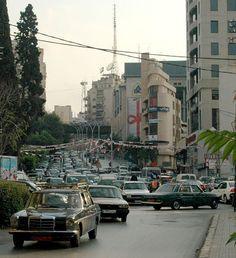 Lebanon, Achrafieh , Sassine Square