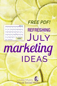 Refresh your social media marketing with these fun July holidays! Download a FREE printable content idea calendar to inspire engaging posts, business promotions, and blogging. | #LouiseM #July #SmallBusinessTips #ContentMarketing #BloggingTips #Holidays #SocialMediaMarketing #SMM Instagram Marketing Tips, Instagram Tips, Facebook Marketing, Social Media Marketing, Business Marketing, Business Tips, Twitter Tips, Content Marketing Strategy, Marketing Ideas