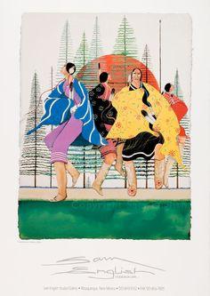 Sam English - Ojibwe |  Woman of Nations, Dancin'.  LOVE Sam English.