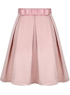 Shop Pink Bow Pleated Skirt online. Sheinside offers Pink Bow Pleated Skirt & more to fit your fashionable needs. Free Shipping Worldwide!
