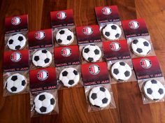 Feyenoord Voetbal Koekjes / Soccer Ball Cookies ⚽️