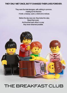 LEGO Movie The Breakfast Club #lego #movie #thebreakfastclub #minifigure